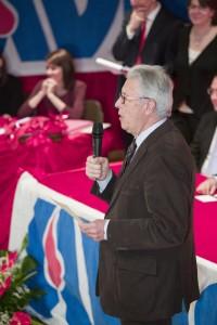 Il presidente Provinciale uscente Roberto Saini